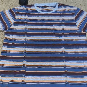 Urban outfitters stripes pocket tee